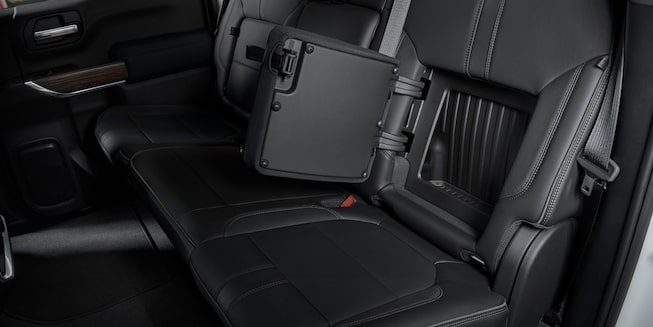2019 Silverado 1500 Truck Interior Features: Rear-Seatback Storage Compartment