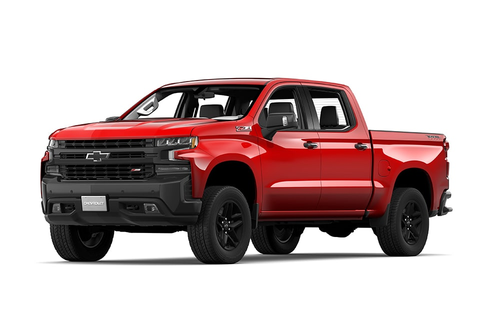 2019 Silverado 1500 Pickup Truck: Trail Boss