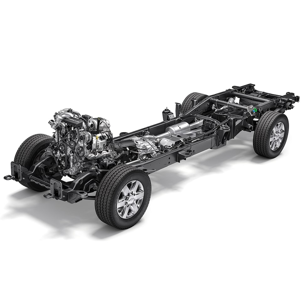 Heavy Duty Chassis: Driveline