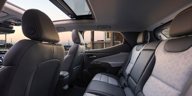 Bolt EUV Interior Photo: Rear Seats