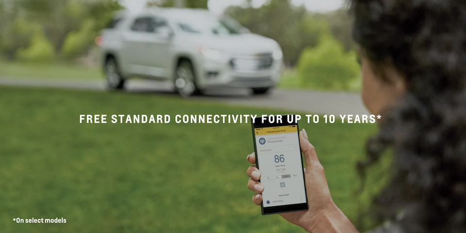 2021 Tahoe Connected Services - Connectivity