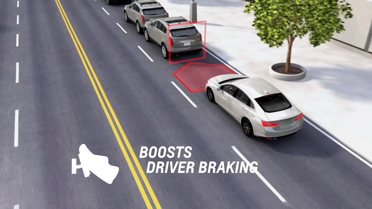 Safety: Low Speed Front Automatic Braking