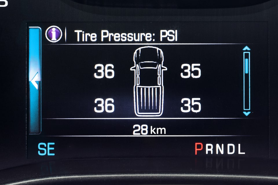 Safety: Tire Pressure Monitoring System